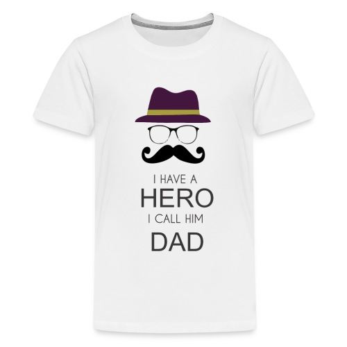 Hero Daddy - Kids' Premium T-Shirt
