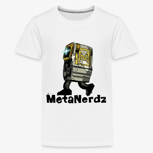 Gonk MetaNerdz Black Words - Kids' Premium T-Shirt