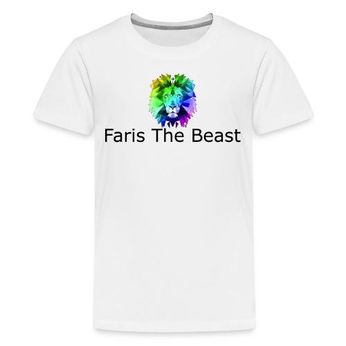 Faris The Beast Text w/ Logo - Kids' Premium T-Shirt