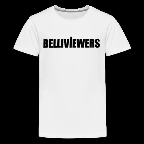 BELLIVIEWERS white - Kids' Premium T-Shirt