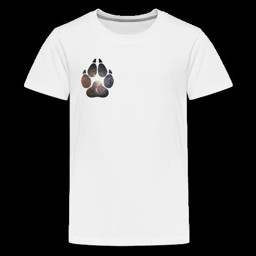 Paw Print 01 - Kids' Premium T-Shirt