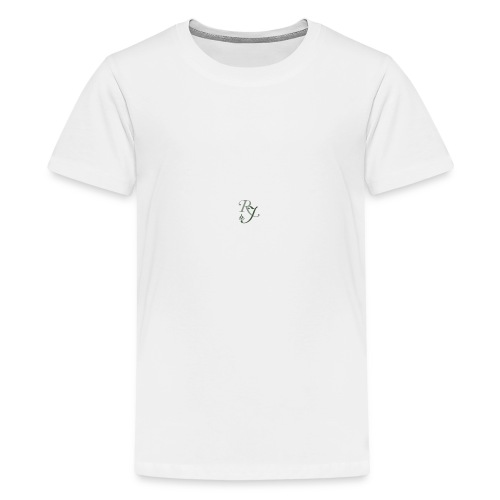 RJ logo homepage box - Kids' Premium T-Shirt