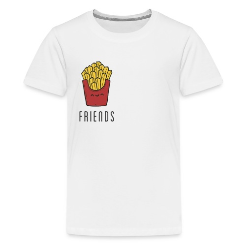 French fries best friends - Kids' Premium T-Shirt