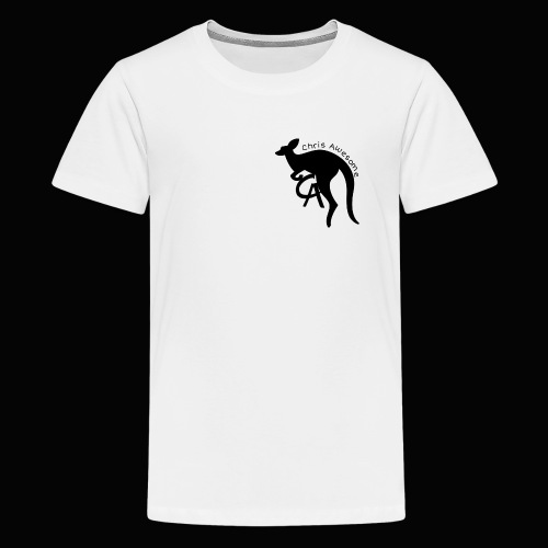 Chris awesome kangaroo - Kids' Premium T-Shirt