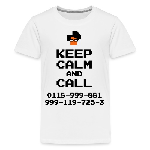 IT Crowd Moss emergency KEEP CALM - Kids' Premium T-Shirt