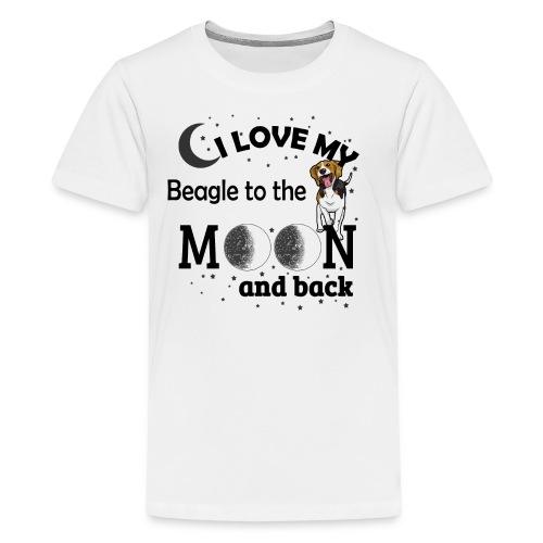 I Love My Beagle - Kids' Premium T-Shirt