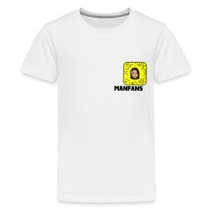 Manfans fans Snapchat - Kids' Premium T-Shirt
