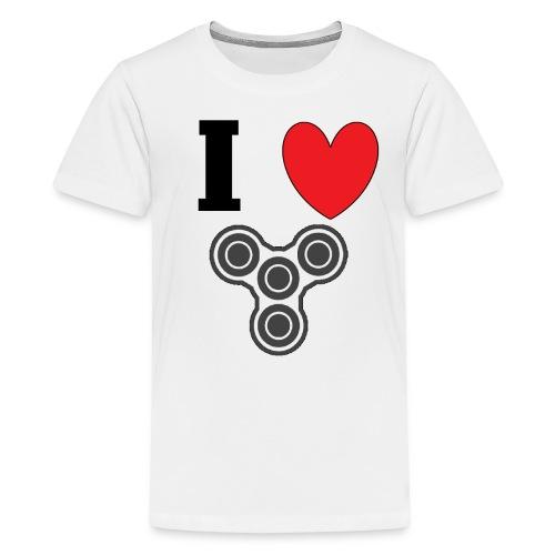 i love fidget spinners! - Kids' Premium T-Shirt