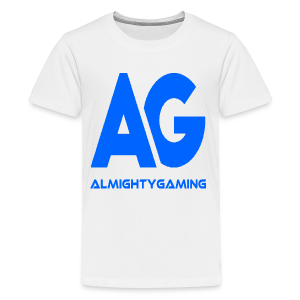 AlmightyGaming (Blue Edition!) - Kids' Premium T-Shirt