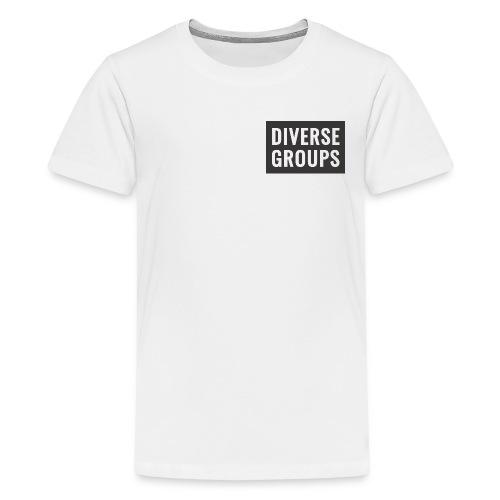 DG Logo black - Kids' Premium T-Shirt