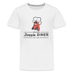 Doggie Diner Logo 1 with NO back color - Kids' Premium T-Shirt