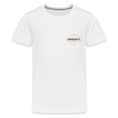 BushBandits White - Kids' Premium T-Shirt