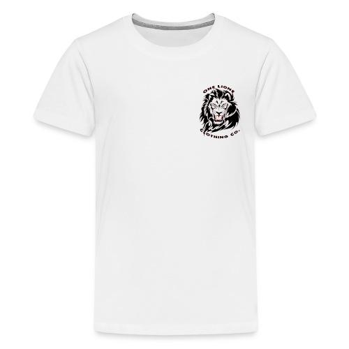 One Lione Clothing Co. Corner Emblem - Kids' Premium T-Shirt