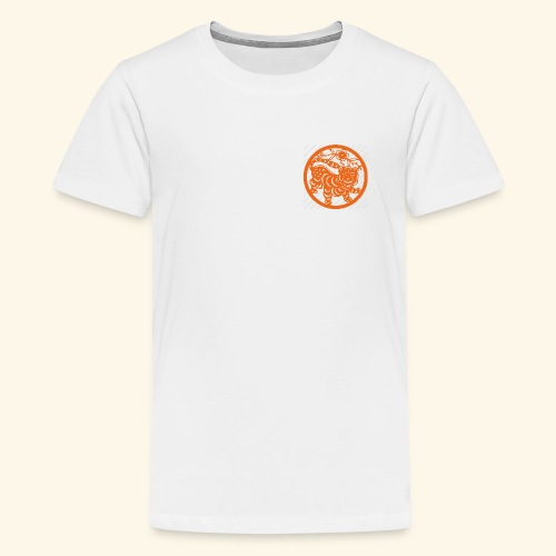 asian tiger - Kids' Premium T-Shirt