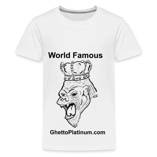 T-shirt-worldfamousForilla2tight - Kids' Premium T-Shirt