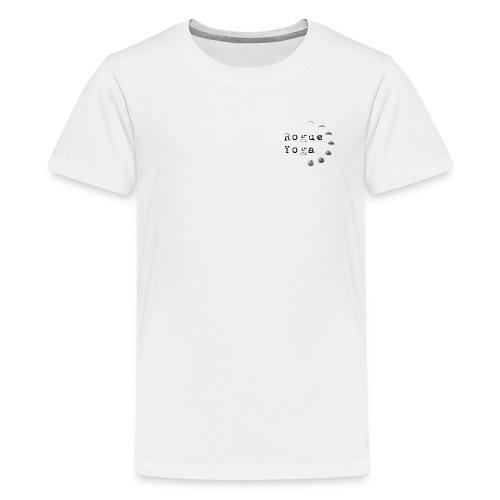 Rogue Yoga Logo - Kids' Premium T-Shirt
