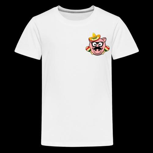 Senior Pig - Kids' Premium T-Shirt