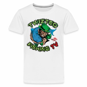 Official Twizted Fishing TV Logo!! - Kids' Premium T-Shirt