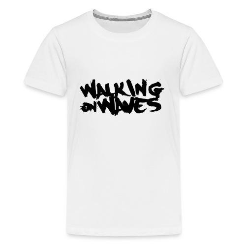 W.O.W black name - Kids' Premium T-Shirt