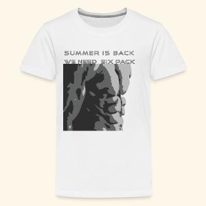 summer T shirt - Kids' Premium T-Shirt