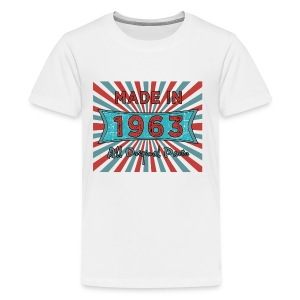 Made in 1963 All Original Parts 50th Vintage Style - Kids' Premium T-Shirt