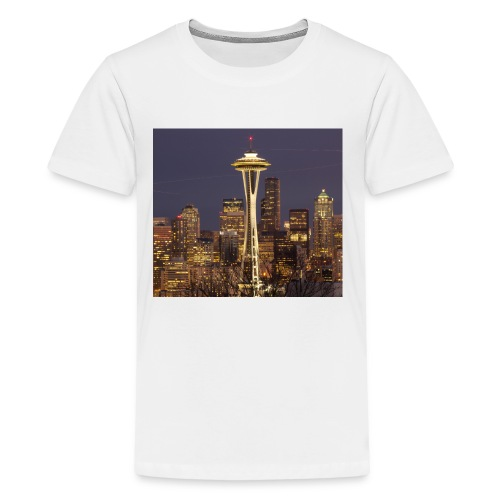 Seattle buildings - Kids' Premium T-Shirt