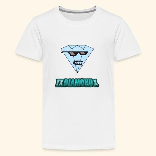 Txdiamondx Diamond Guy Logo - Kids' Premium T-Shirt