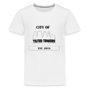 FORTNITE CITY OF TILTED TOWERS - Kids' Premium T-Shirt