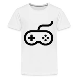 Old School Gaming Controller - Kids' Premium T-Shirt