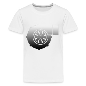 Turbo icon design - Kids' Premium T-Shirt