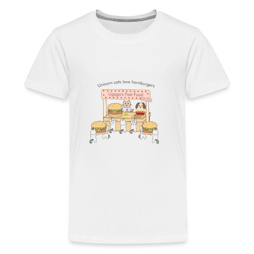 At the market - Kids' Premium T-Shirt