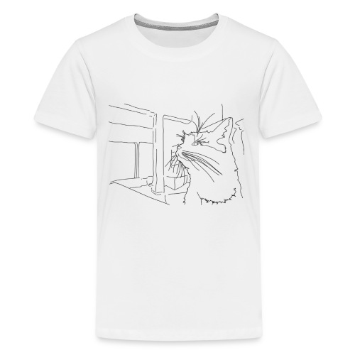 Sassy Cat-chan - Kids' Premium T-Shirt