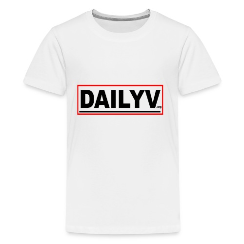 DAILYV.ORG - Kids' Premium T-Shirt