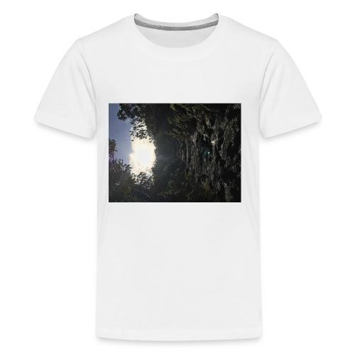 Glowing path - Kids' Premium T-Shirt