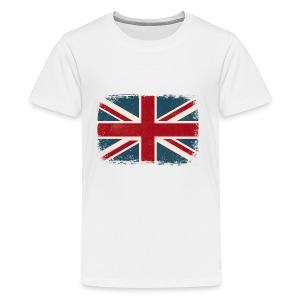 Distressed British Flag - Kids' Premium T-Shirt