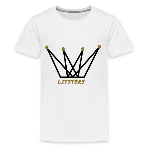 LITSTERS crown logo 1 - Kids' Premium T-Shirt