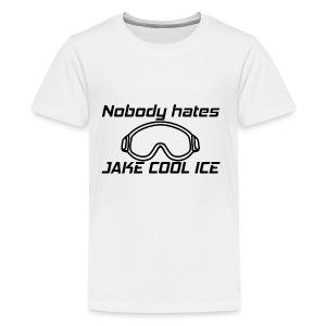 Jake Cool Ice [Black] - Kids' Premium T-Shirt