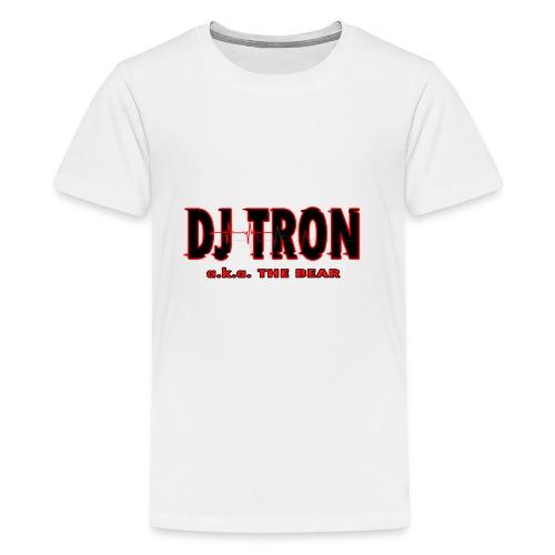 DJ tron logo 2 - Kids' Premium T-Shirt