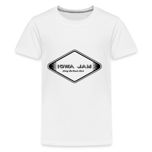 Iowa Jam Logo TM - Kids' Premium T-Shirt