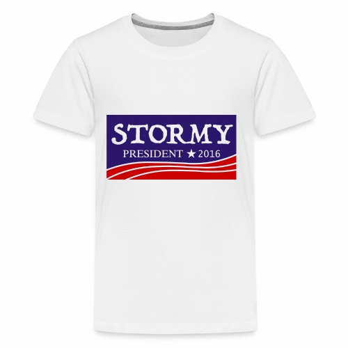 Stormy For President! - Kids' Premium T-Shirt