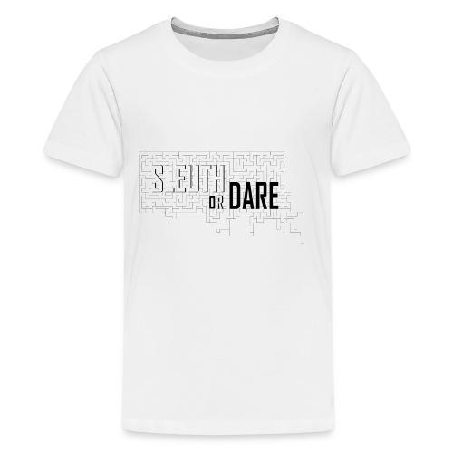 Sleuth or Dare - Kids' Premium T-Shirt