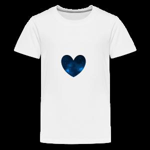 Galaxy Heart - Kids' Premium T-Shirt