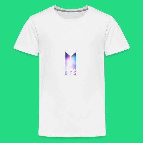 Galaxy BTS Bangtan Sonyeondan Logo - Kids' Premium T-Shirt