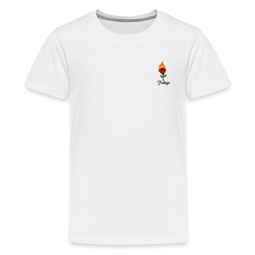 Fuaygo flaming rose logo - Kids' Premium T-Shirt