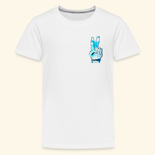 peace blues - Kids' Premium T-Shirt
