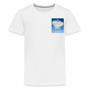 Keep calm and love yourself - Kids' Premium T-Shirt
