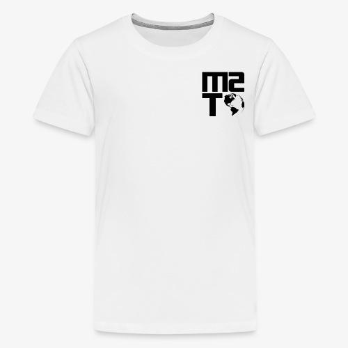 Married To The World - Black Logo - Kids' Premium T-Shirt