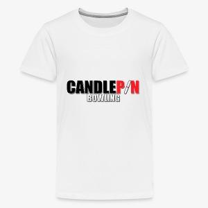 Candlepin Bowling - Kids' Premium T-Shirt