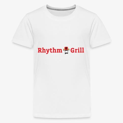 Rhythm Grill word logo - Kids' Premium T-Shirt