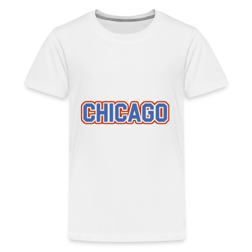 Chicago, Illinois - The Cubs - Kids' Premium T-Shirt